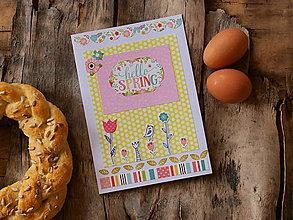 Papiernictvo - hello spring - 9232325_