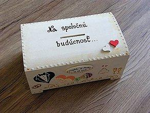 Krabičky - pokladnička BUDÚCNOSŤ - 9229732_