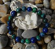 blue and green stones