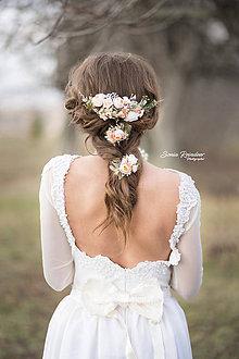 Ozdoby do vlasov - Svadobný polvenček - 9234119_