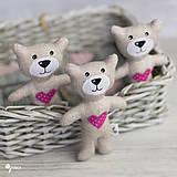 Hračky - malý a milý macko :) - 9233491_