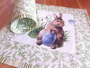 Úžitkový textil - Prestieranie zajačiky A - 9232249_