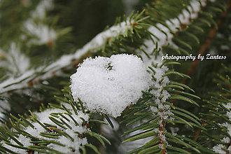 Fotografie - Autorská fotografia: Snehové srdce (1) - 9233378_