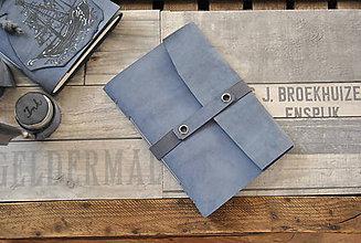 Papiernictvo - kožený zápisník  LAGOON - 9230805_