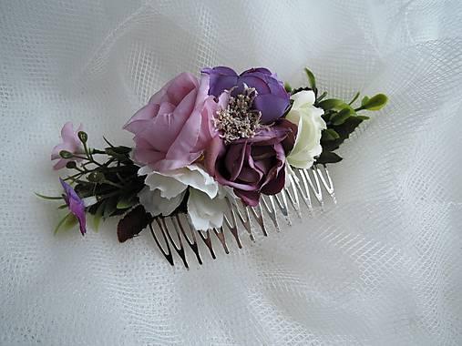 Hrebienok fialovo-ružový