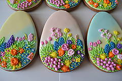 Dekorácie - Medovníkové veľkonočné vajíčko - 9232979_
