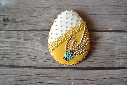 Dekorácie - Medovníkové veľkonočné vajíčko - 9232899_