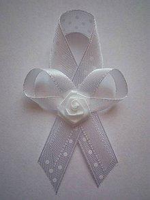 Pierka - Biele elegantné svadobné pierka - 9232323_