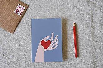 Papiernictvo - Srdce na dlani - 9230261_