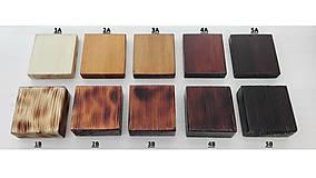 Nábytok - Jedálenský stôl s rustikálnou doskou - 9233742_