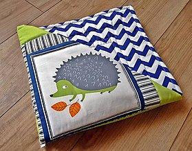 Textil - Detská deka patchwork Zvieratká z lesa - 9233757_