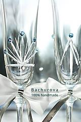 Darčeky pre svadobčanov - Svadobné poháre - 9230116_