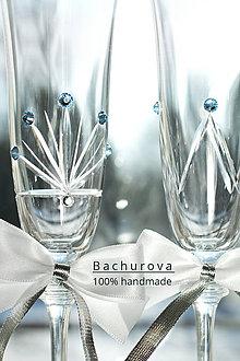Nádoby - Svadobné poháre - 9230116_
