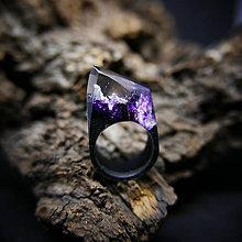 Prstene - Drevený prsteň: V horách šialenstva - 9231921_