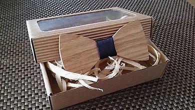 Doplnky - Pánsky drevený motýlik - 9234088_