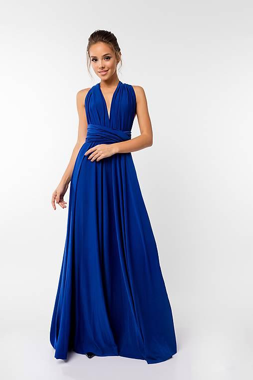 Šaty - Maxi šaty TRANSFORMERS, jasne modré - 9231404_