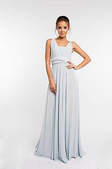 Šaty - Maxi šaty TRANSFORMERS, perličkové - 9231608_