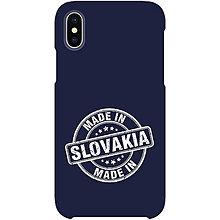 Na mobil - Kryt s motívom Made in Slovakia pre Apple, Huawei a Samsung - 9229660_