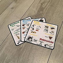 Hudobné nástroje - CD + kartičky hudobné nástroje - 9233875_