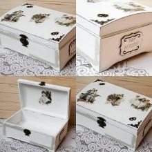 Krabičky - svadobná krabica na fotky robená na želanie.. - 9230981_