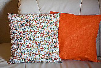 Úžitkový textil - Jarný vankúš  4  -  jarné kvietky - 9229947_