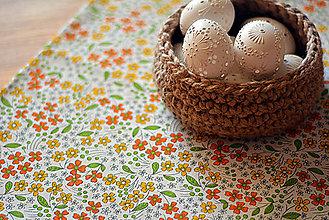 Úžitkový textil - Jarný obrúsok - 9230028_
