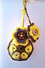 Kľúčenky - Rozvážna - prívesok na kabelku/kľúčenka - 9232392_