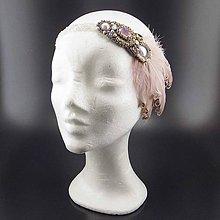 Ozdoby do vlasov - Great Gatsby Maria ... čelenka - 9236547_