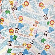 Detské doplnky - Pozvánka na narodeninovú oslavu - safari - 9238757_