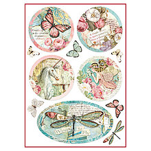 Papier - Ryžový papier, Stamperia, DFSA4270 - 9234578_