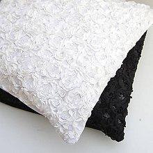 Úžitkový textil - Obliečka na vankúš Biela - 9237293_