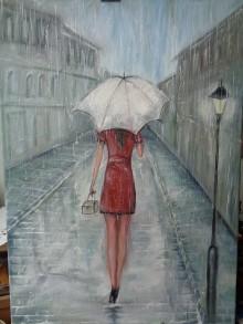 Obrazy - V daždi - 9236303_