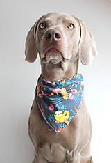 Pre zvieratká - Foli - Obojstranná šatka pre psíkov - 9238177_