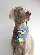 Pre zvieratká - Foli - Obojstranná šatka pre psíkov - 9238205_