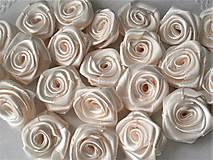 Saténová ružička priemer 2,5cm