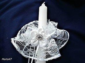 Iné doplnky - Prvé sväté prijímanie-ozdoba na sviečku - 9236524_
