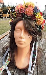 Ozdoby do vlasov - Parta farebná - 9238258_