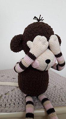 Hračky - Opica Alica 45 cm - 9237562_