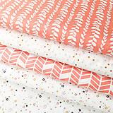 drobné hviezdičky; 100 % bavlna Francúzsko, šírka 160 cm, cena za 0,5 m