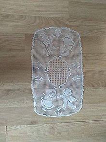 Úžitkový textil - Háčkovany obrus - 9235860_