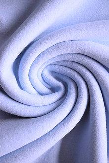 Textil - Bio 100% bavlněný fleece GOTS – světle modrý - 9237602_
