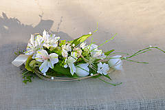 Jarná dekorácia na stôl