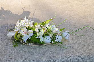 Dekorácie - Jarná dekorácia na stôl - 9238526_