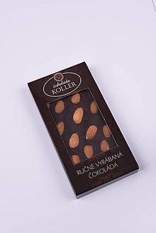 Potraviny - Horká čokoláda s mandľami - 9234386_