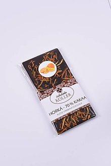 Potraviny - Horká čokoláda s POMARANČOM - 9238325_
