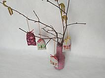 Dekorácie - Motýlik (výšivka) alebo dekorácia s výšivkou - 9236834_