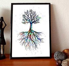 Grafika - Strom života - 9236759_
