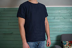 Oblečenie - miljö ľanové tričko pánske - pojke - 9234458_