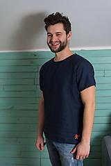 Oblečenie - miljö ľanové tričko pánske - pojke - 9234459_