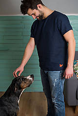 Oblečenie - miljö ľanové tričko pánske - pojke - 9234461_